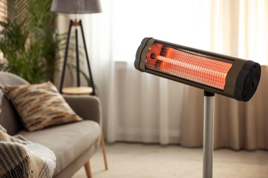 Làm ấm phòng bằng cách sử dụng máy sưởi