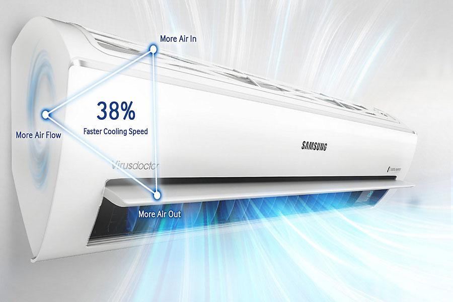 lợi ích của máy lạnh tam diện samsung