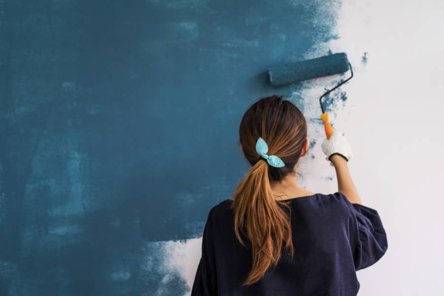 làm ấm phòng bằng cách sử dụng sơn cách nhiệt
