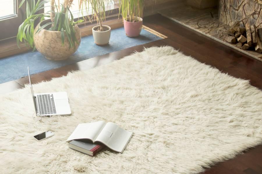 Làm ấm phòng bằng cách sử dụng thảm trải sàn nhà