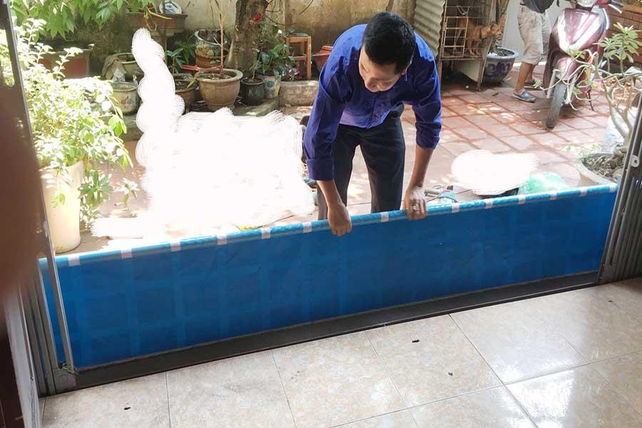 Thanh chắn cản nước tràn vào nhà