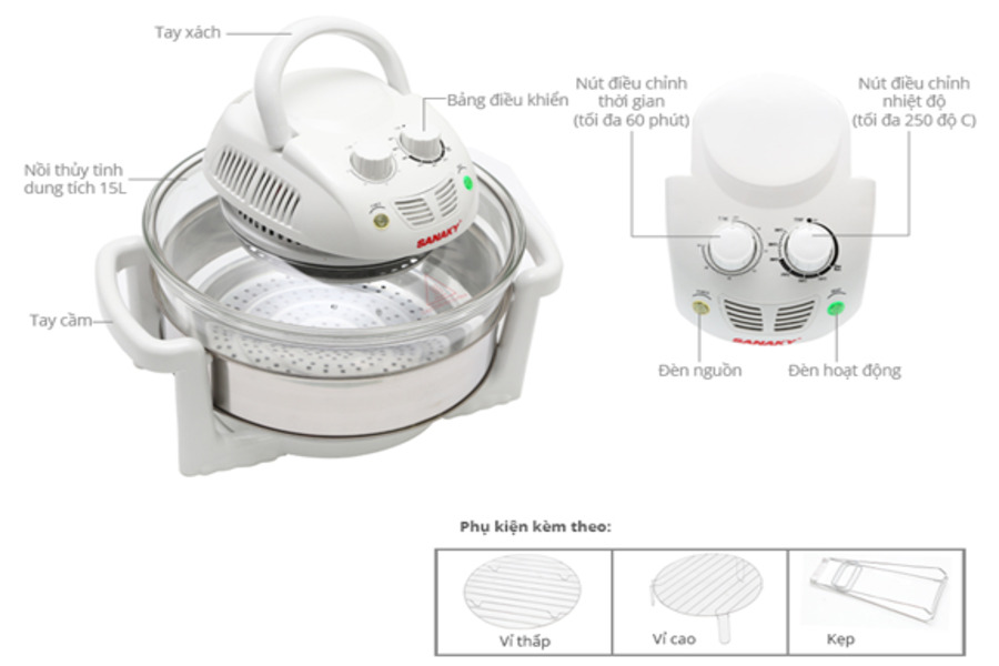 vệ sinh lò nướng thủy tinh