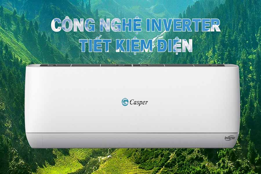 Máy lạnh Casper Inverter