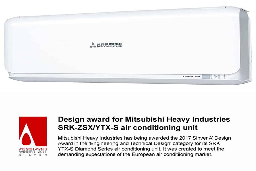 Thiết kế máy lạnh Mitsubishi Heavy