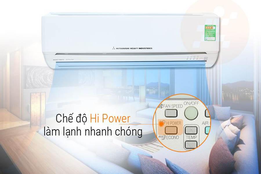 Chế độ Hi-Power của Mitsubishi Heavy