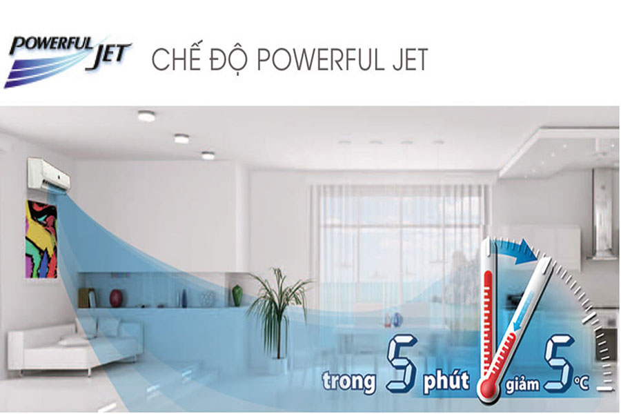 Chế độ Powerful Jet