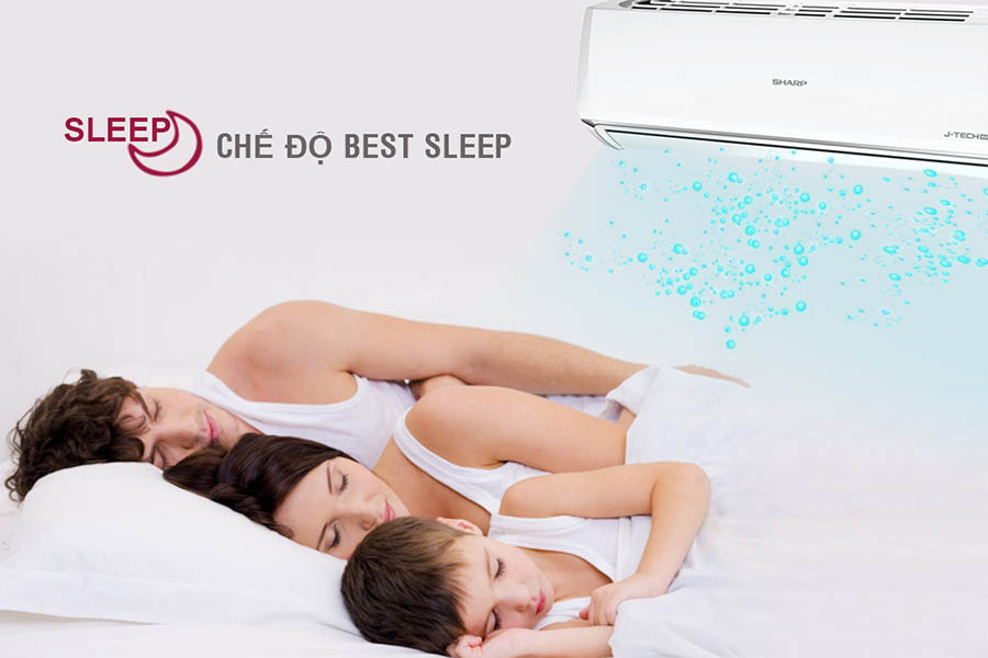 Chế độ Best Sleep của Sharp