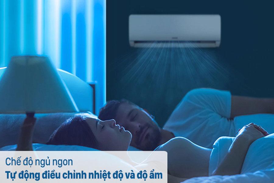 Chế độ ngủ điều hòa Samsung