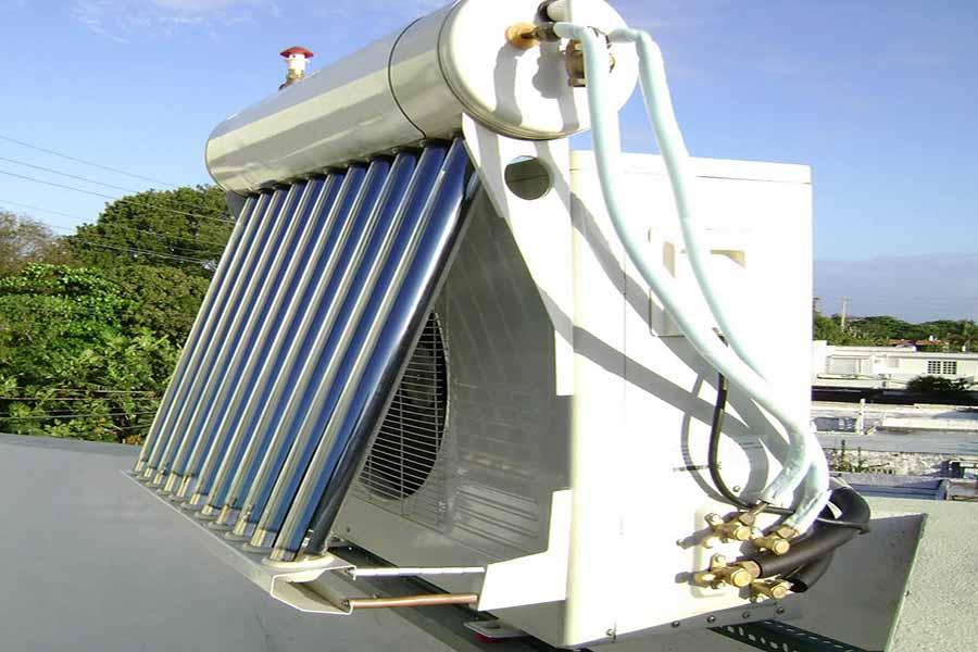 Cục nóng máy lạnh năng lượng mặt trời