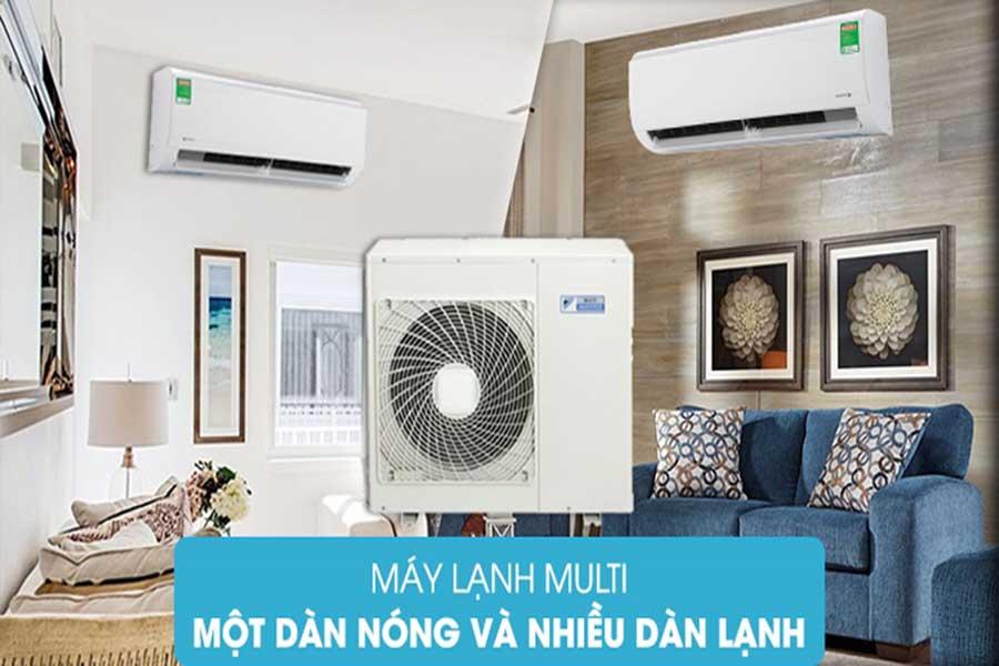 Định nghĩa máy lạnh multi