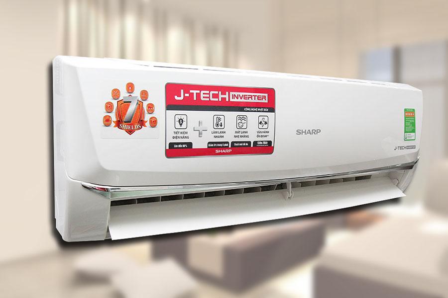Máy lạnh Sharp J-Tech Inverter tốt