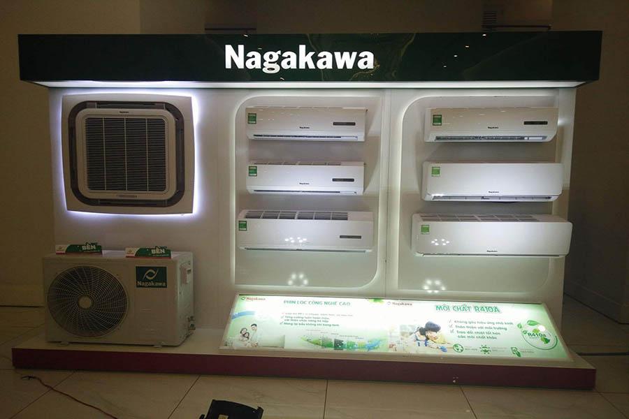 Điều hòa Nagakawa được bày bán