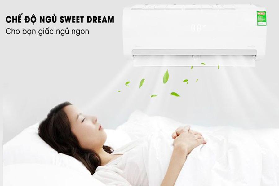 Chế độ Sweet Dream máy lạnh Midea