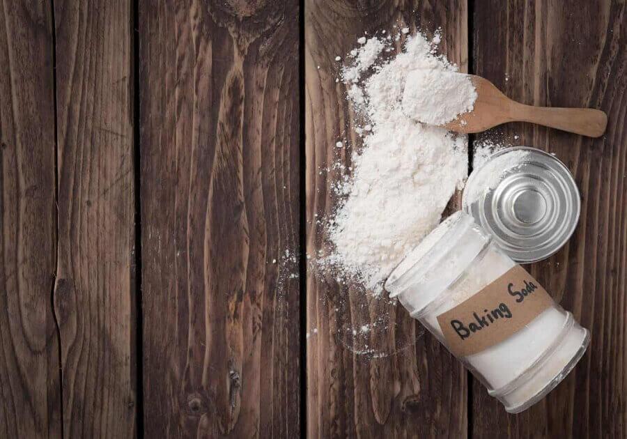 Baking soda giúp khử mùi cháy khét hiệu quả