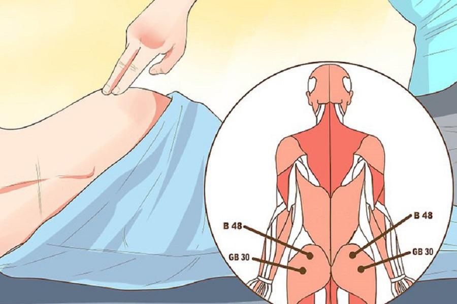 Trị đau lưng bằng bấm huyệt đã có từ lâu, mang lại hiệu quả nhất định