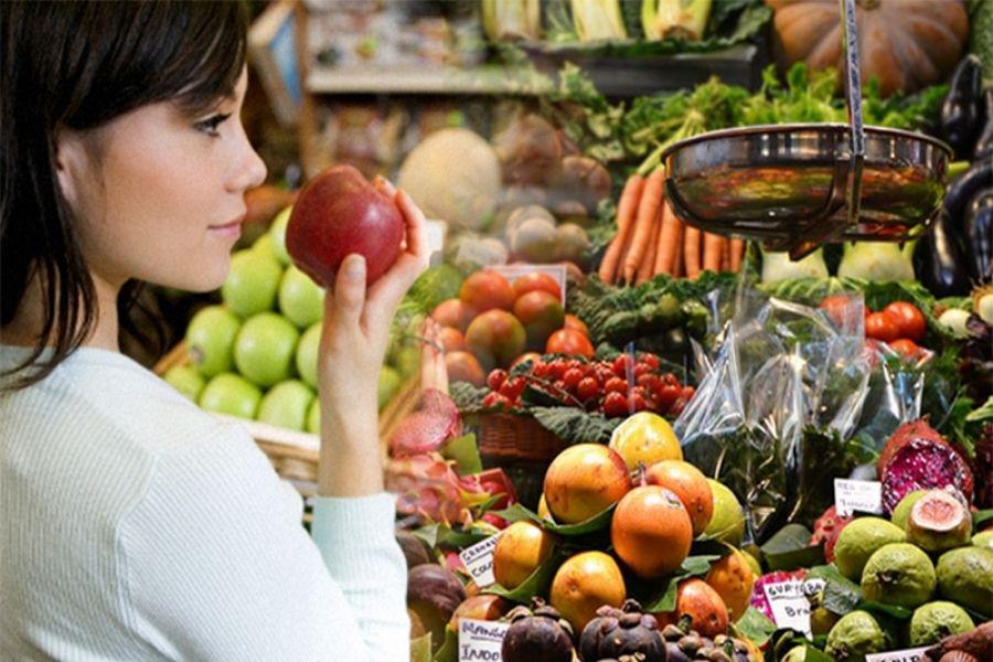 cách chọn rau củ quả tươi ngon, không ngâm hoá chất bằng cách ngửi