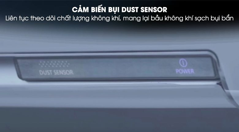 Cảm biến bụi Dust Sensor giúp công nghệ Nanoe-G làm việc tốt hơn