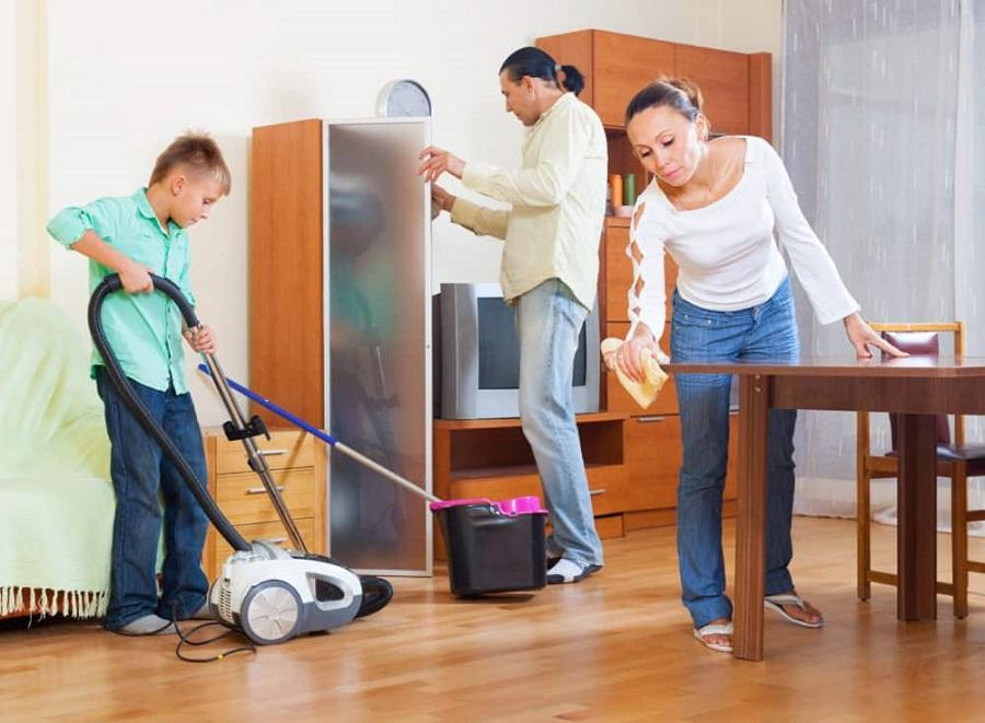 Dọn dẹp nhà cửa thường xuyên ngăn thằn lằn vào nhà