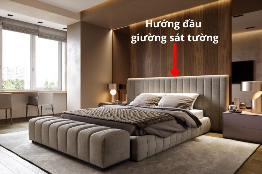 hướng đầu giương hợp phong thuỷ phòng ngủ