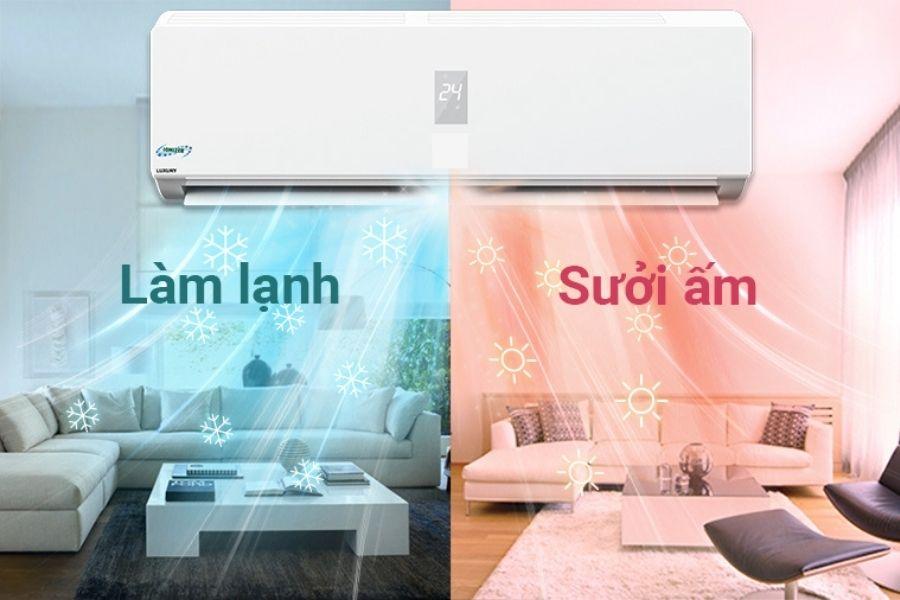 máy điều hoà giữ ấm cho người già 2 chiều nóng lạnh