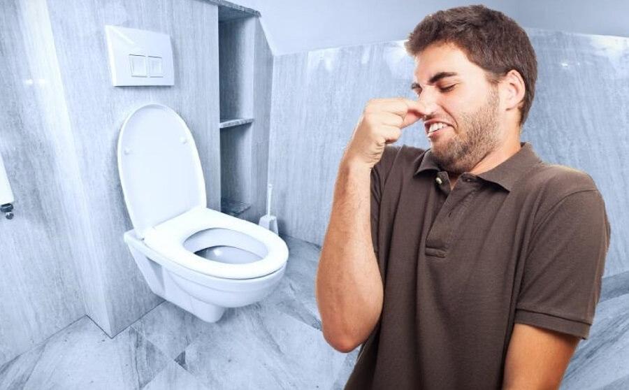 Mùi hôi từ toilet