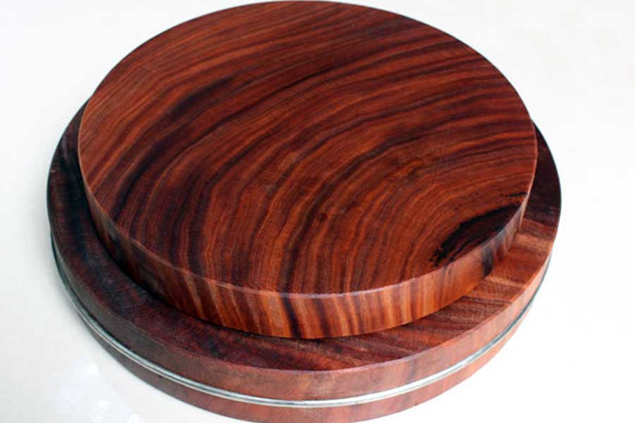 Cân nặng, kích thước của thớt gỗ nghiến