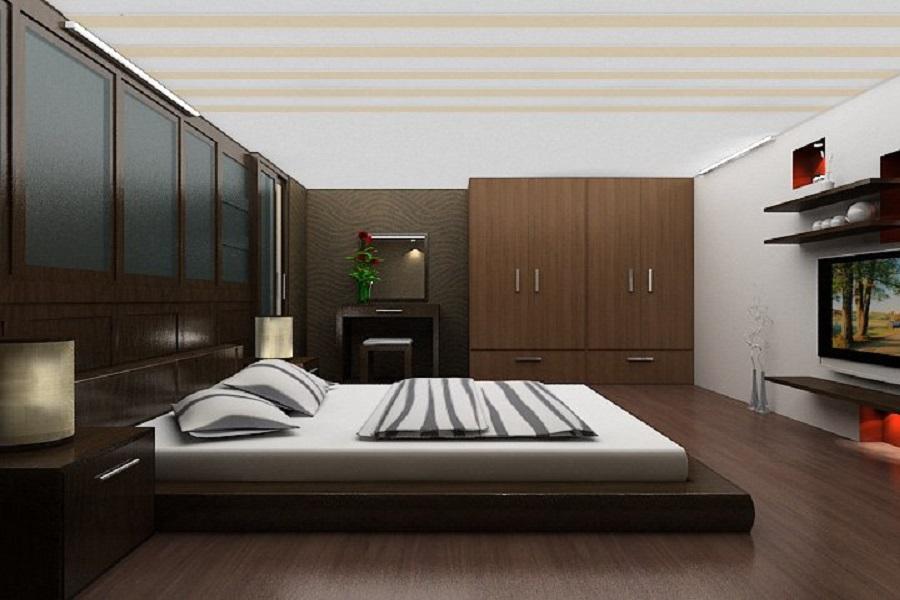 Vị trí kê giường kín gió, yên tĩnh, hợp phong thủy để đảm bảo môi trường nghỉ ngoi cho người già