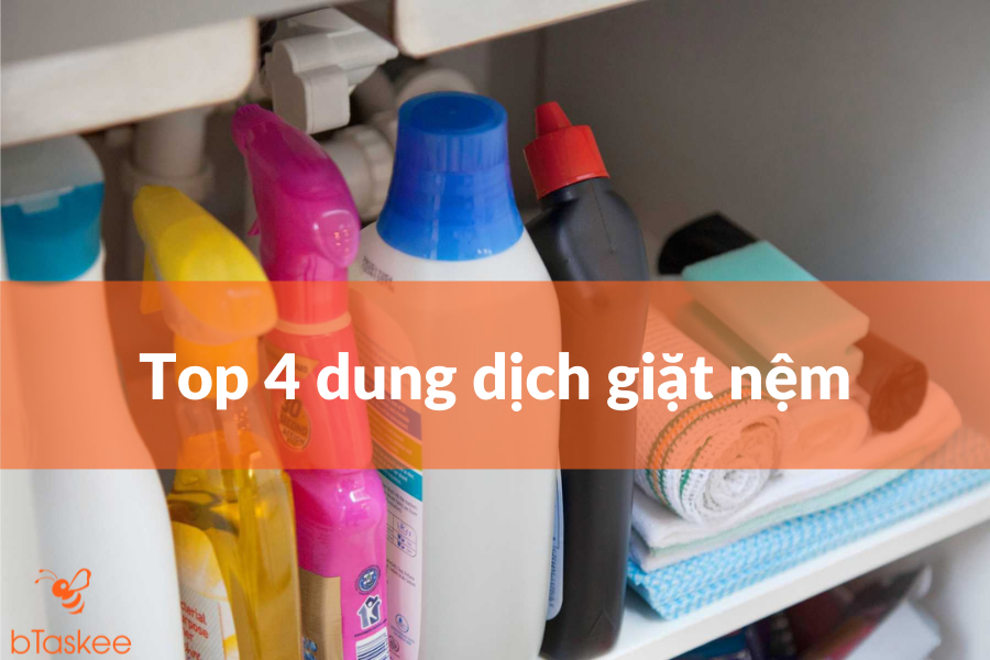 Top 4 dung dịch giặt nệm