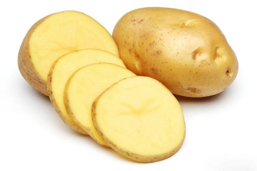 Khoai tây cắt lát mỏng