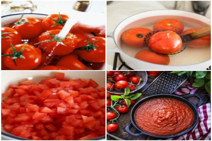 Các bước làm sốt cà chua ngon, mịn để dùng quanh năm