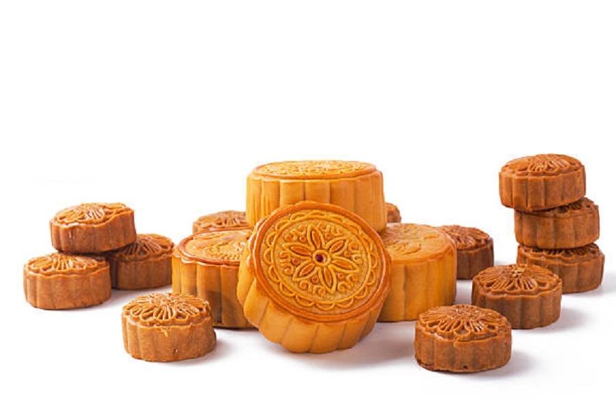 Những chiếc bánh trung thu nướng có thời hạn bảo quản trong 7 ngày