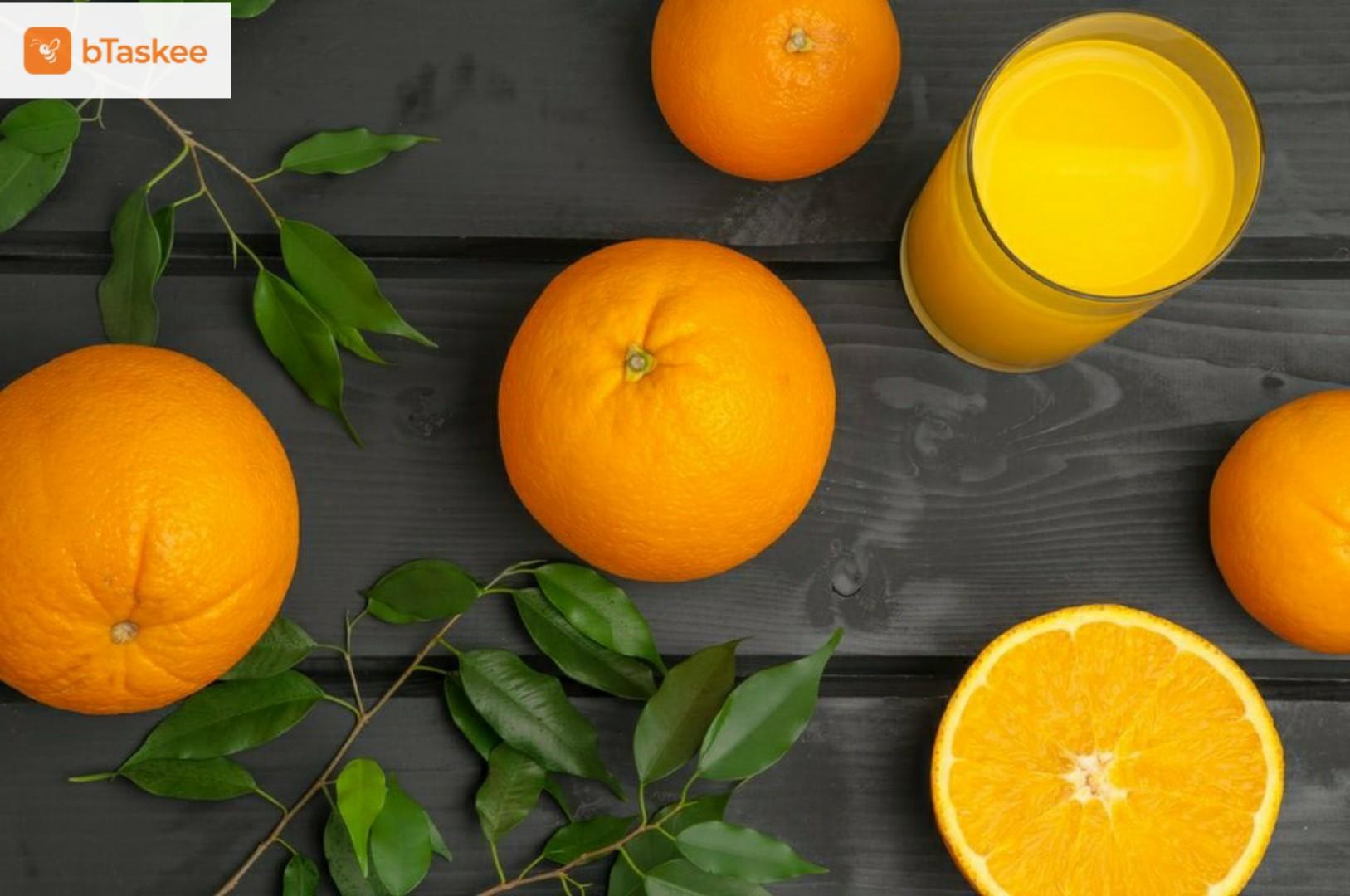 Cách bảo quản cam không bị khô