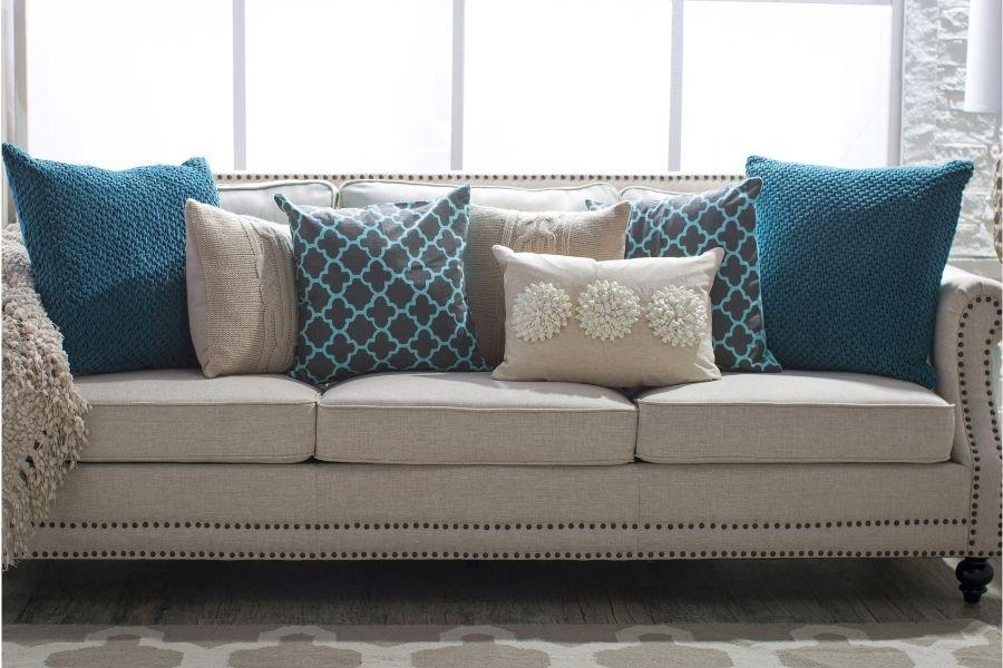 Ghế sofa vải nỉ có giá thành rẻ hơn ghế sofa da