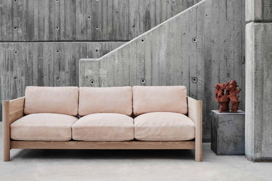 Ghế sofa vải trang trí phòng khách