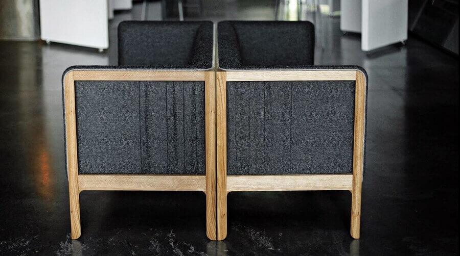 Khung ghế sofa bằng gỗ
