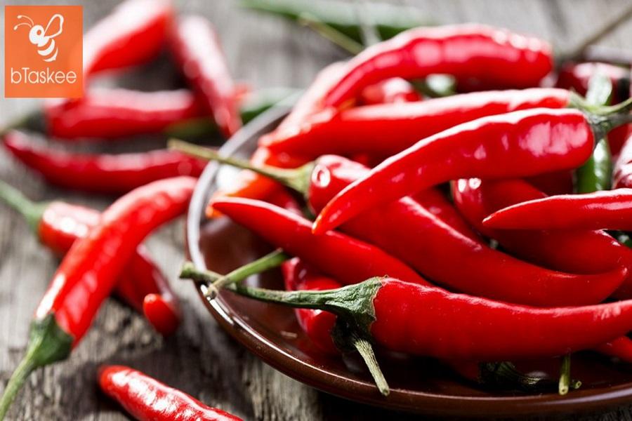 cách để bảo quản ớt tươi lâu