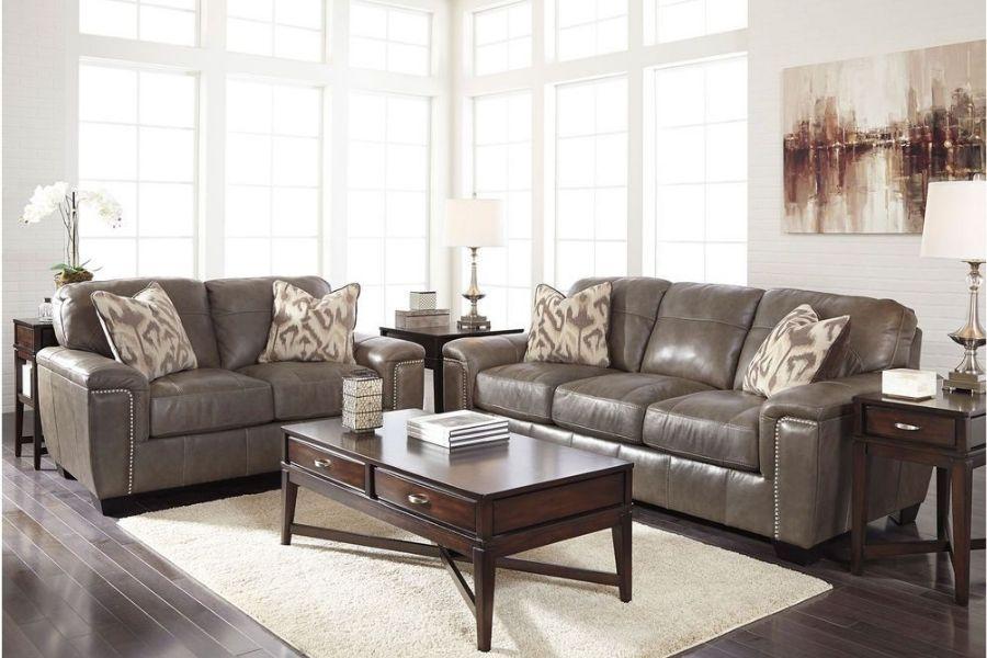 Sofa da có thời gian sử dụng lâu hơn sofa vải nỉ
