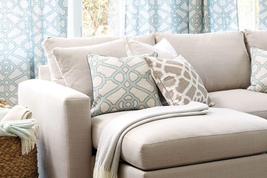 Ghế sofa vải nỉ