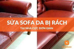Cách sửa sofa da tại nhà cực đơn giản