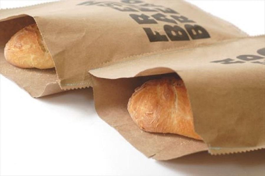 Gói bánh mì bằng giấy sẽ giữ được độ giòn thơm