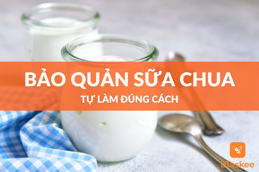 bảo quả sữa chua tự làm đơn giản