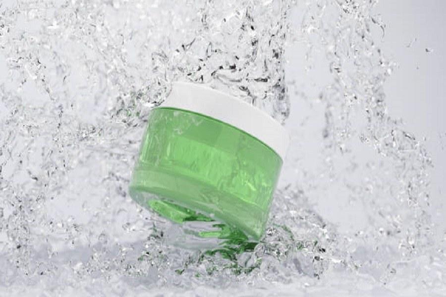 bảo quản gel nha đam trong lọ kín, đặt vào tủ lạnh