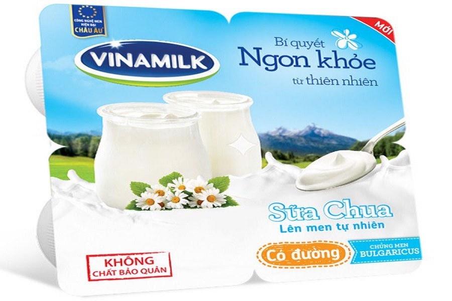 Cách bảo quản sữa chua có thương hiệu, để ở nhiệt độ 6-8 độ C