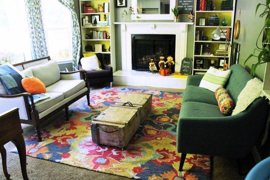 Cách bố trí sofa phòng khách kiểu đối diện