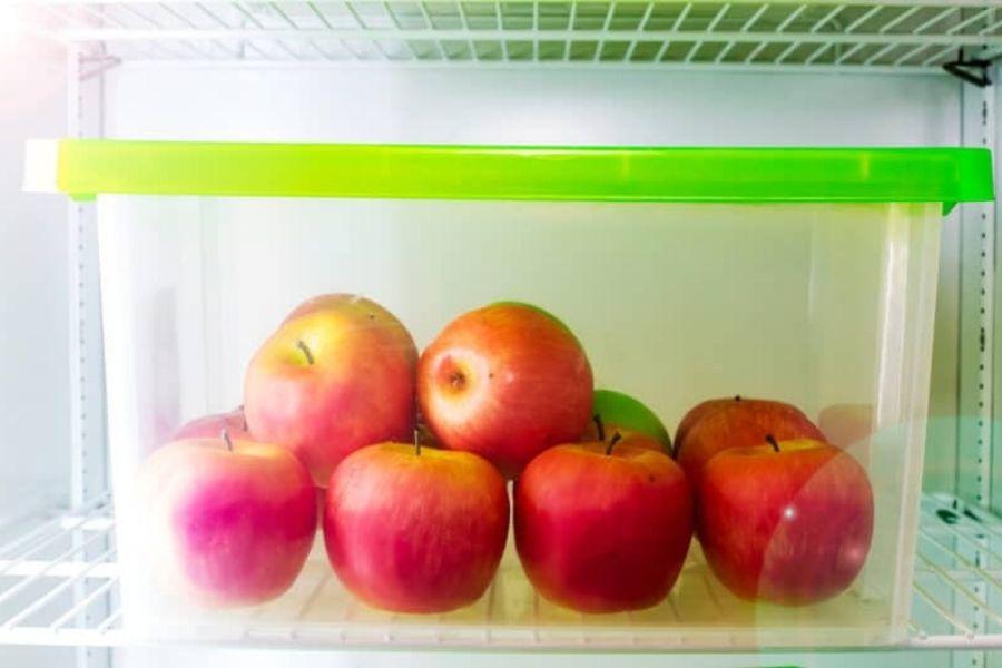 cách bảo quản táo trong tủ lạnh