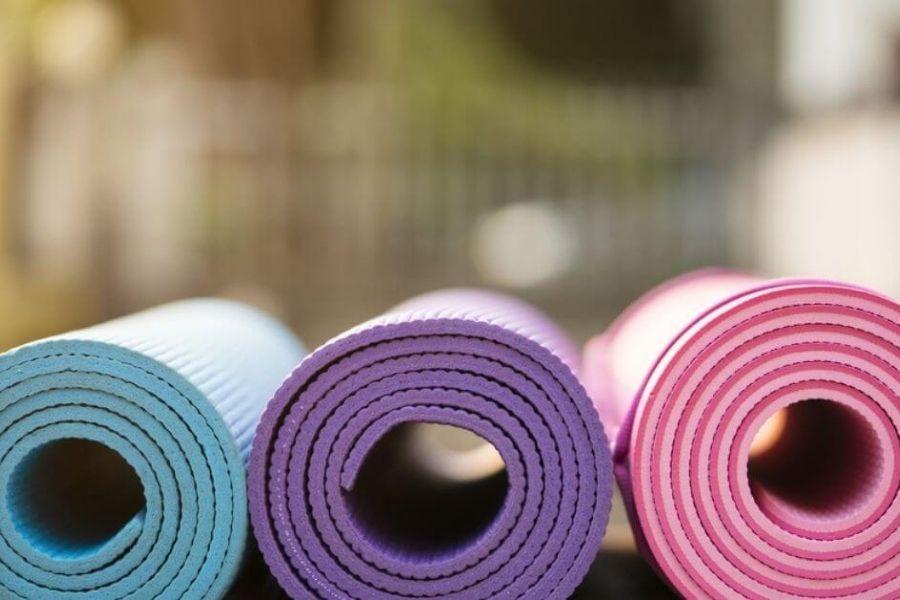 các loại thảm tập yoga