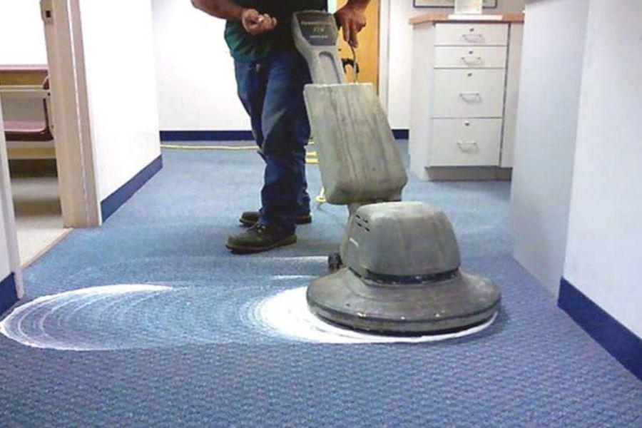 Giặt thảm văn phòng bằng phương pháp bào màng