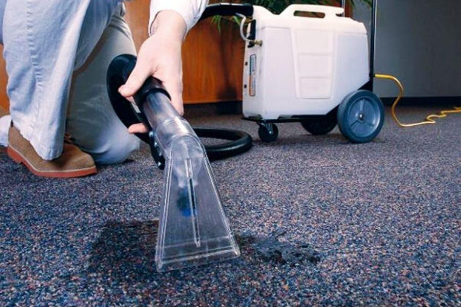 cách giặt thảm văn phòng siêu sạch
