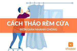 Cách tháo rèm cửa để giặt đơn giản nhanh chóng tại nhà
