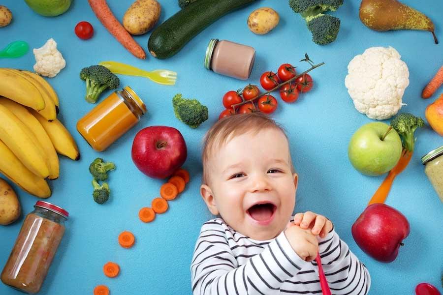 Cung cấp đầy đủ dinh dưỡng cho trẻ giúp cho trẻ hết tiêu chảy nhanh hơn